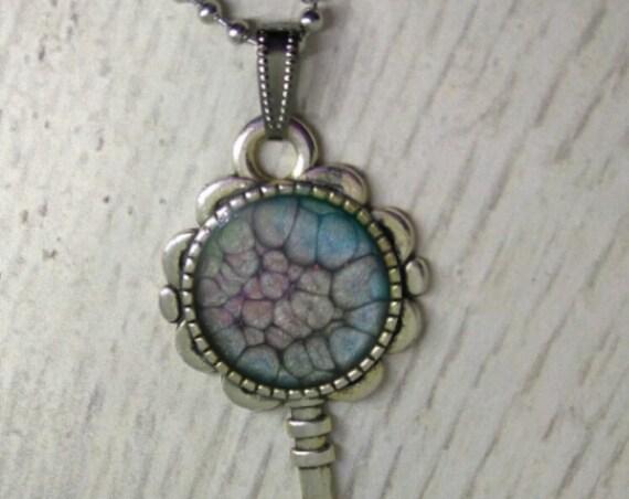 Key-to-my-Heart Necklace - Key Pendant - Key  Necklace - Handmade Jewelry