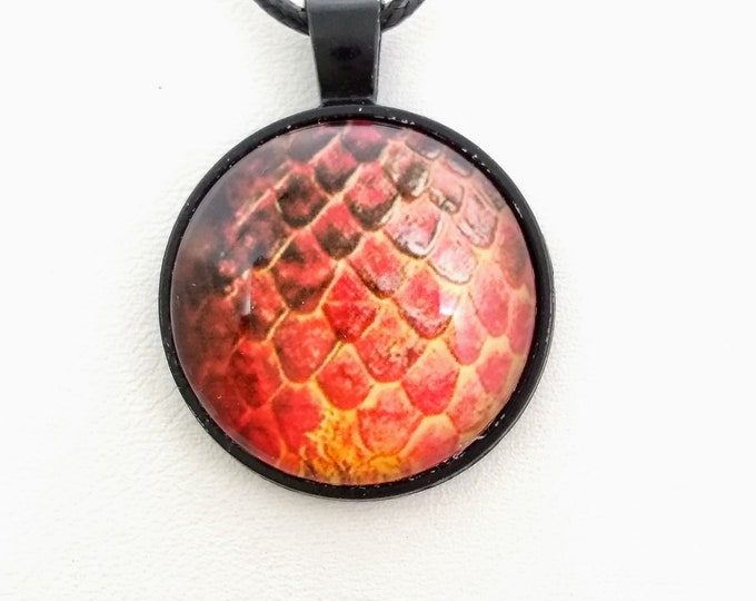 Dragon Scale Necklace - Dragon Scales - Green Dragon Scales - Dragon Egg