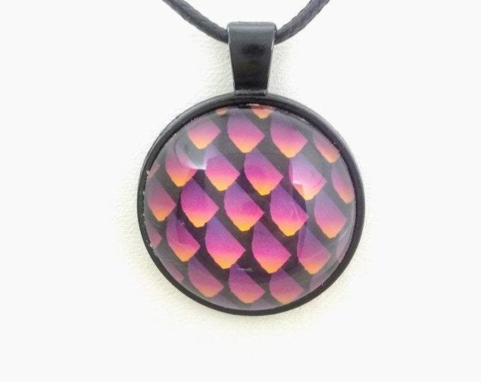 Dragon Scale Necklace - Dragon Scales - Green Dragon Scales - Dragon Egg - Fiery Dragon Scales