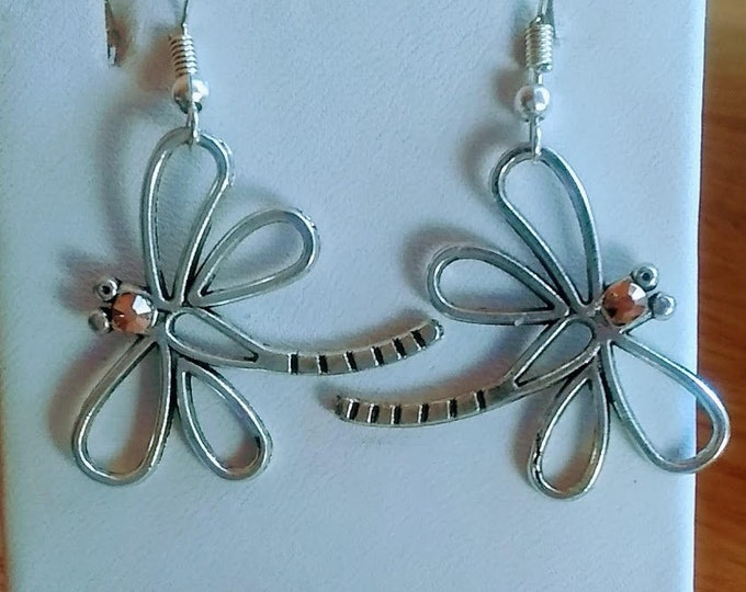 Dragonfly Earrings - Dragonflies - Dragonfly