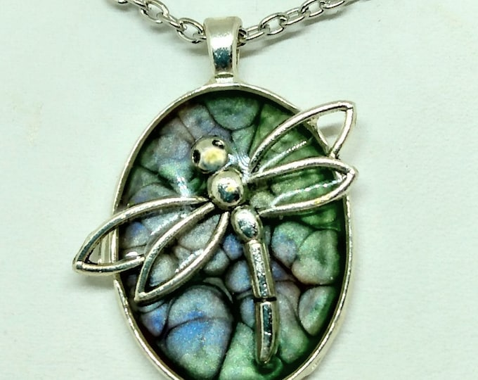 Dragonfly - Dragonfly Pendant - Dragonfly Necklace - Statement Necklace