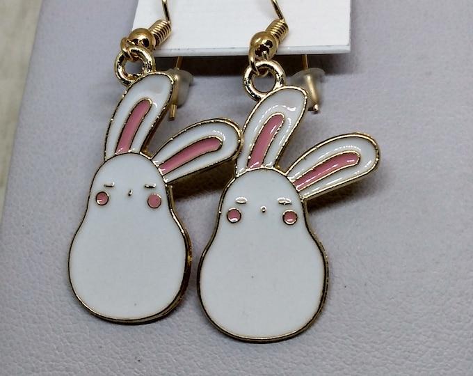 Bunny Earrings - Rabbit Earrings - Easter Earrings