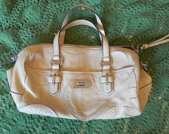 62ca334978d6 Beige leather bag