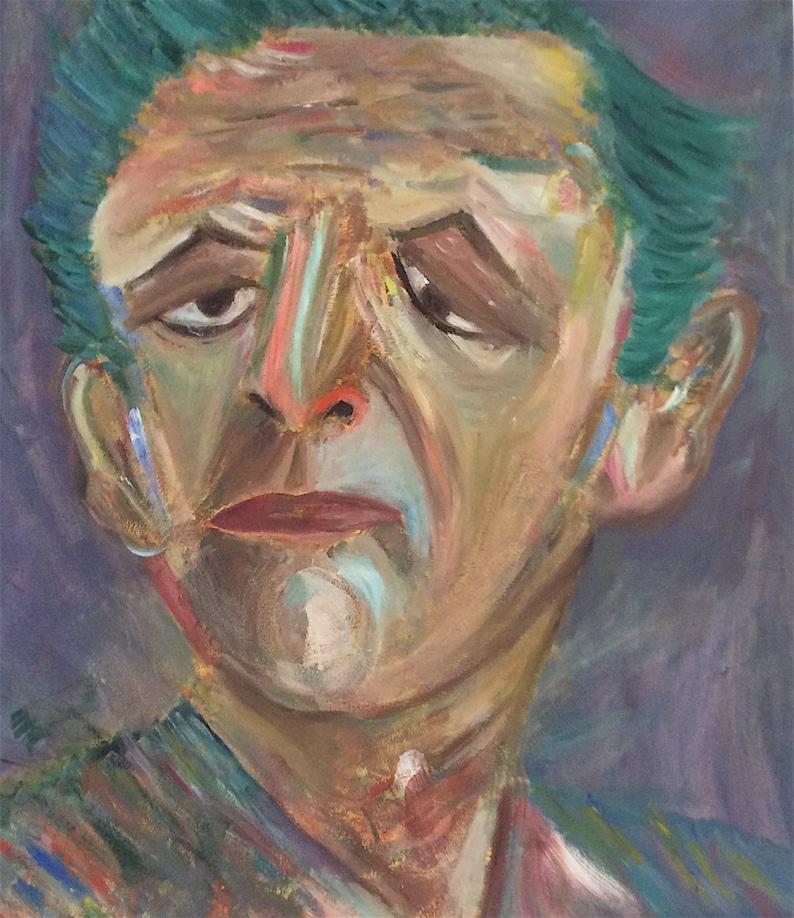 ATTITUDE  Original Expressionist Portrait image 0