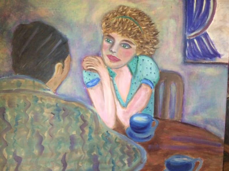 MY INFATUATION   original oil painting 24 x 30 on image 0