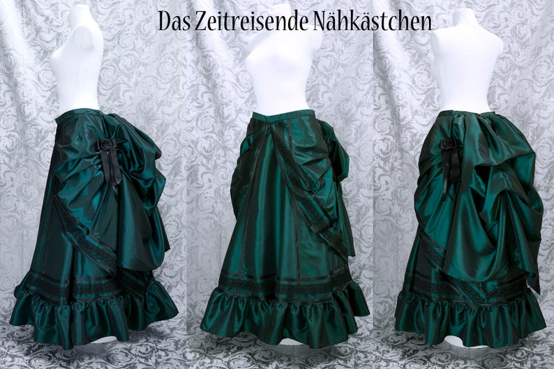 c0237a6787 Victorian Skirts set of 4-6 items bustle steampunk gothic