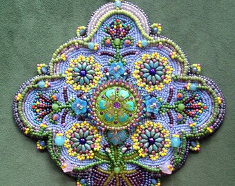 Bead Embroidery Kit: Early Spring
