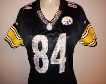 1f62a3fad3d Pittsburgh Steelers Swarovski Crystal Blinged Out Jersey  Please read  description  (Jersey not included )