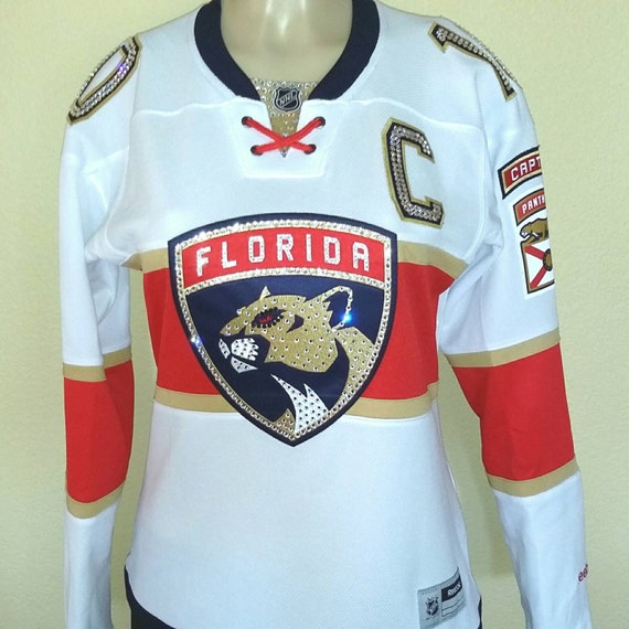 ad18a85f3 Florida Panthers NHL Swarovski Crystal Blinged Out jersey