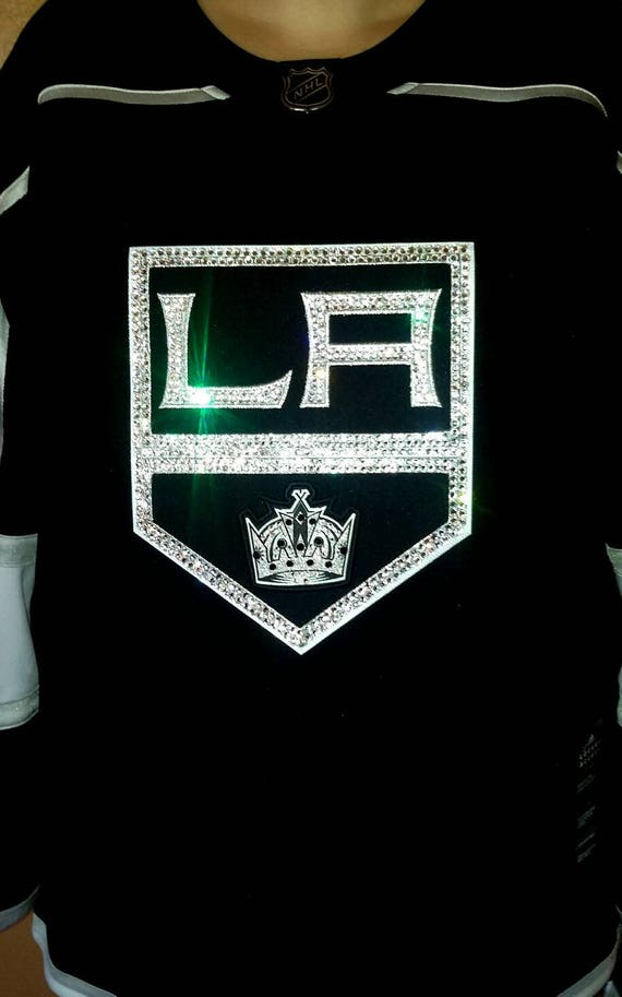 ca9472b17 LA Kings NHL Swarovski Crystal Full Blinged Out Jersey Jersey