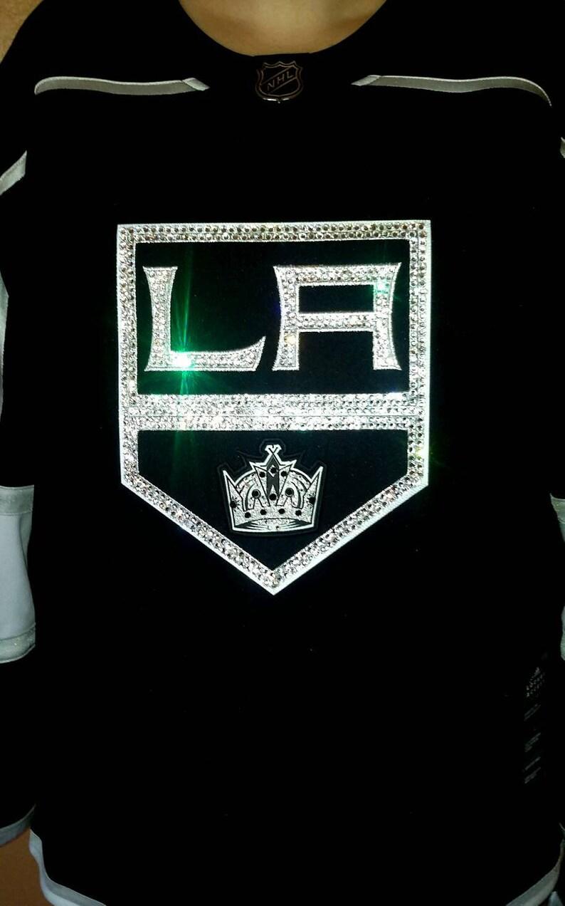 LA Kings NHL Swarovski Crystal Full Blinged Out Jersey Jersey  4c14e62e7