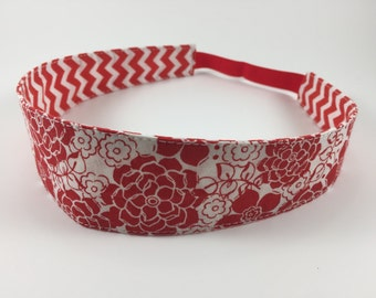Handmade Fabric Headband, Adult Headband Woman, Womens Headband, Reversible Fabric Headband For Women,