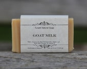 Natural Organic Goat Milk Soap - All Natural Soap, Handmade Soap, Homemade Soap, Handcrafted Soap