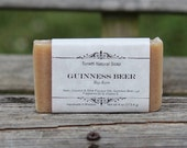 Guinness Beer Soap Bar with Bay Rum Scent - All Natural Soap, Handmade Soap, Homemade Soap, Handcrafted Soap