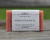 Tobacco & Rum Soap - Handmade Soap, Homemade Soap, Handcrafted Soap