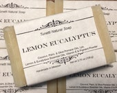Lemon Eucalyptus Soap- Ha...