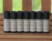 Natural Organic Lip Balm - Biodegradable Paperboard Packaging