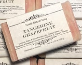 Tangerine-Grapefruit Soap...