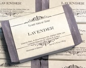 Natural Organic Lavender Soap- Handmade Natural Soap