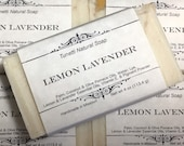 Lemon Lavender Soap- Hand...