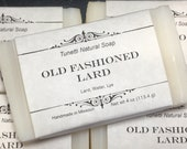 Natural Organic Old Fashioned Lard Soap- Handmade Natural Soap