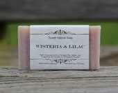 Wisteria & Lilac Soap - All Natural Soap, Handmade Soap, Homemade Soap, Handcrafted Soap