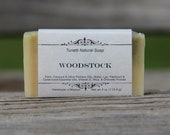 Natural Organic Woodstock Soap - All Natural Soap, Handmade Soap, Homemade Soap, Handcrafted Soap