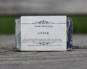 Natural Organic Anise Natural Soap - All Natural Soap, Handmade Soap, Homemade Soap, Handcrafted Soap