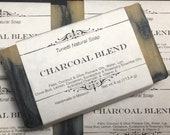 Natural Organic Charcoal Blend Soap - Handmade Natural Soap