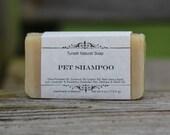 Pet Shampoo Bar - All Natural Soap, Handmade Soap, Homemade Soap, Handcrafted Soap