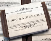 Chocolate Orange Soap- Ha...