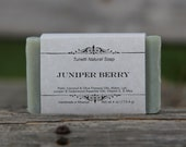 Juniper Berry Soap - Handmade Natural Soap