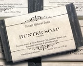 Natural Organic Hunter Soap - Handmade Natural Soap