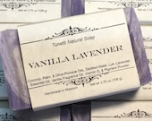 Vanilla Lavender Soap- Handmade Natural Soap