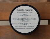 Natural Organic Handmade Colloidal Silver Cream