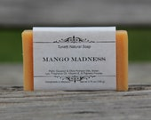 Mango Madness Soap - All Natural Soap, Handmade Soap, Homemade Soap, Handcrafted Soap