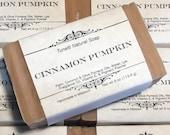 Cinnamon Pumpkin Soap- Handmade Natural Soap