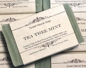 Tea Tree Mint Soap- Handm...