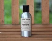 Natural Organic Daily Facial Moisturizer - Aluminum bottle