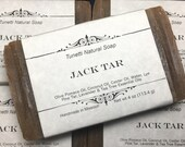 Natural Organic Jack Tar Soap - All Natural Soap, Handmade Soap, Homemade Soap, Handcrafted Soap