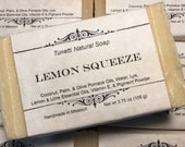 Lemon Squeeze Soap- Handm...