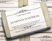 Almond Oatmeal Soap- Hand...