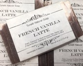 French Vanilla Latte Soap - Handmade Soap, Homemade Soap, Handcrafted Soap
