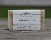 Natural Organic Farm Hands Soap - Handmade Natural Soap
