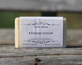 Fresh Snow Soap - All Natural Soap, Handmade Soap, Homemade Soap, Handcrafted Soap