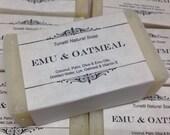 Emu & Oatmeal- Handmade N...