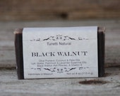 Natural Organic Black Walnut Soap - All Natural Soap, Handmade Soap, Homemade Soap, Handcrafted Soap