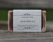 Natural Organic Patchouli Soap - All Natural Soap, Handmade Soap, Homemade Soap, Handcrafted Soap