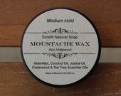 Mustache Wax - Natural Organic
