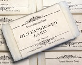 Old Fashioned Lard Soap- ...
